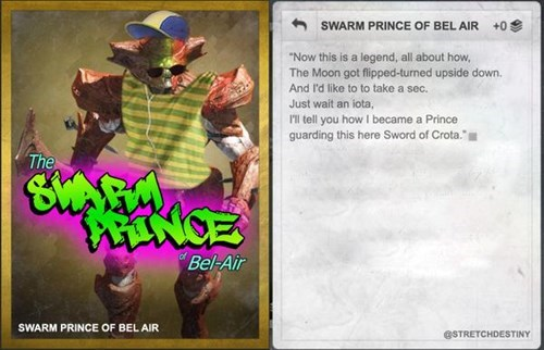destiny swarm prince Fresh Prince of Bel-Air - 8320053760
