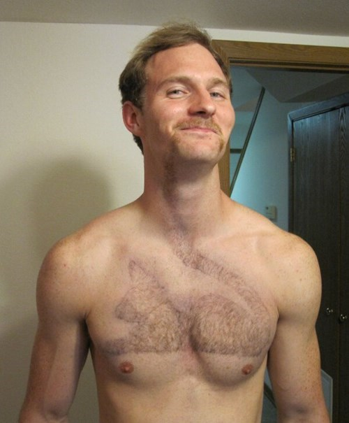 hair poorly dressed chest hair Cats g rated