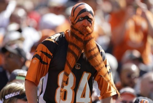 beard,poorly dressed,cincinnati,fan,football,bengals,g rated