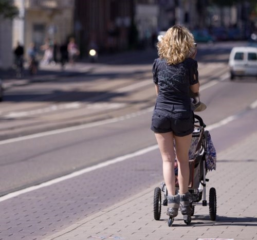 kids rollerblades parenting stroller g rated - 8320196608