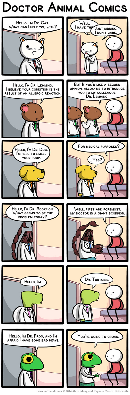 in this economy doctors animals web comics - 8320210176
