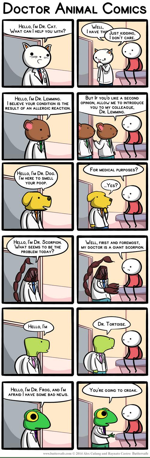 in this economy doctors animals web comics - 8320210176