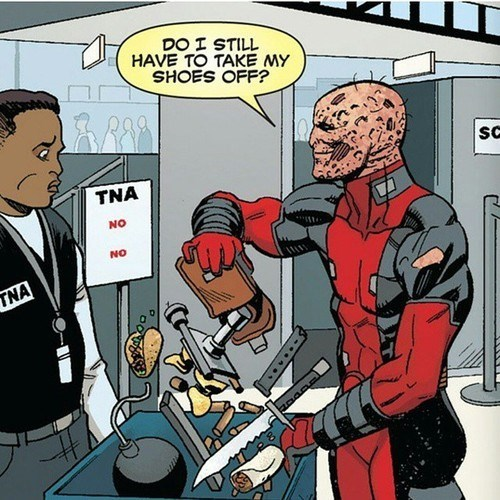 deadpool Straight off the Page - 8320264448