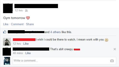 wtf creepy facebook - 8320278784