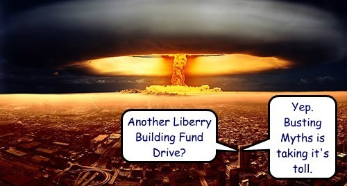 Sky - Yep Busting Myths is taking it's toll Another Liberry Building Fund Drive?
