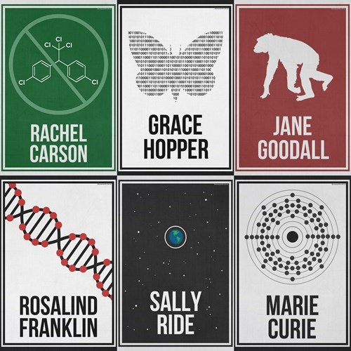 awesome posters science women - 8320541440