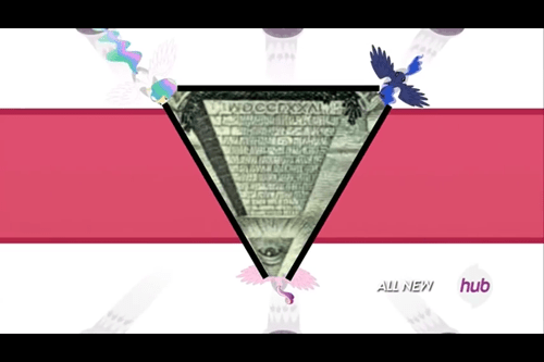 illuminati princess cadence princess luna princess celestia - 8320892928