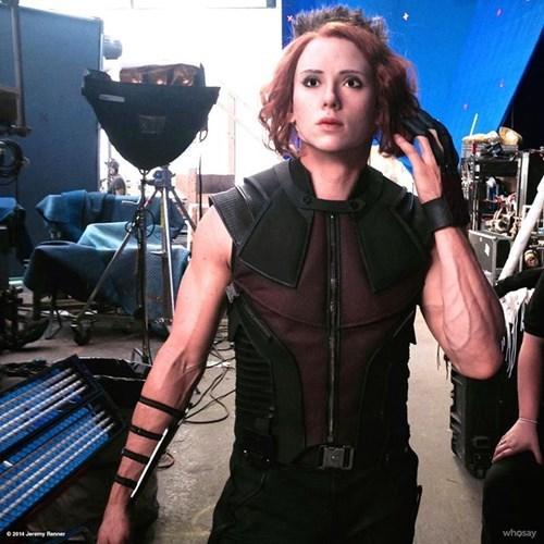 The Avengers Black Widow hawkeye - 8321015552