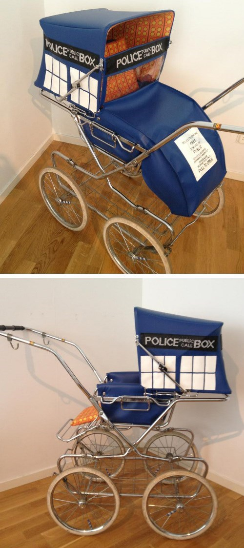 tardis crafts stroller - 8321029120