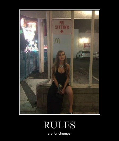 rules signs rebel funny - 8321223424