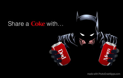 orphan,coke,batman