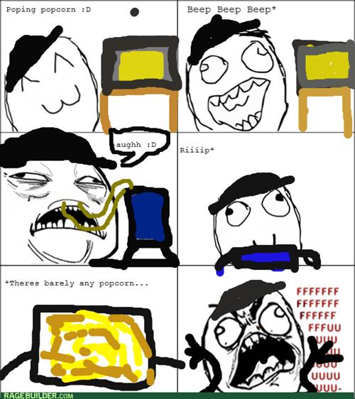 rage lies Popcorn - 8321476864