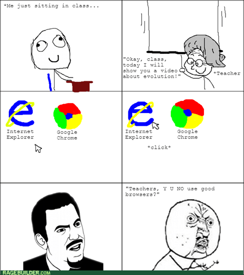 Y U NO,school,browser,teacher