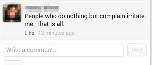 complaining whining irony failbook - 8322001664