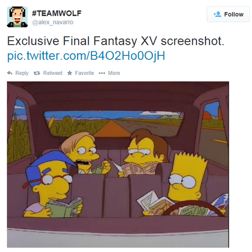 tgs the simpsons final fantasy xV - 8322153728