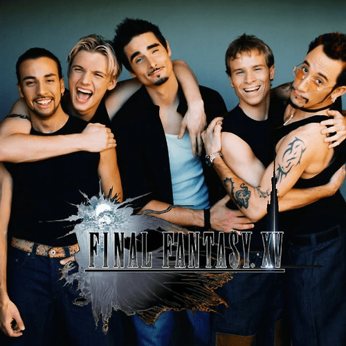 backstreet boys final fantasy final fantasy xV black - 8322157568