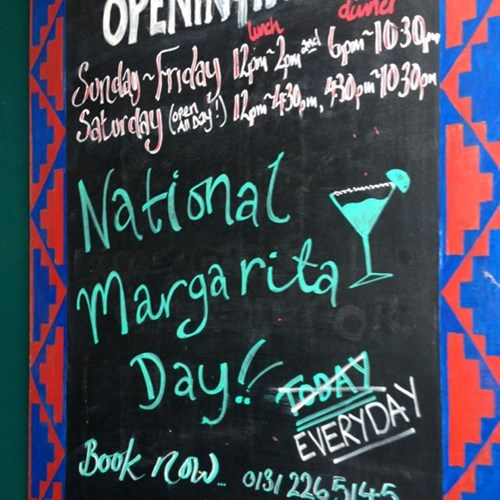 holiday margarita sign pub - 8322181376