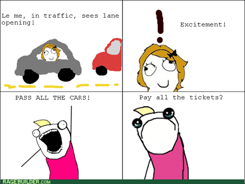 all the things,driving,traffic