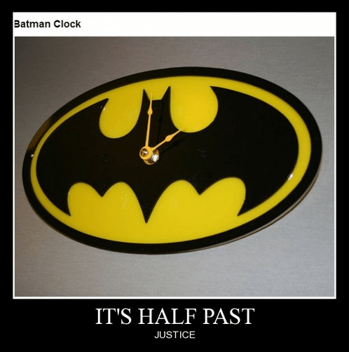 batman clock night time funny - 8322238720