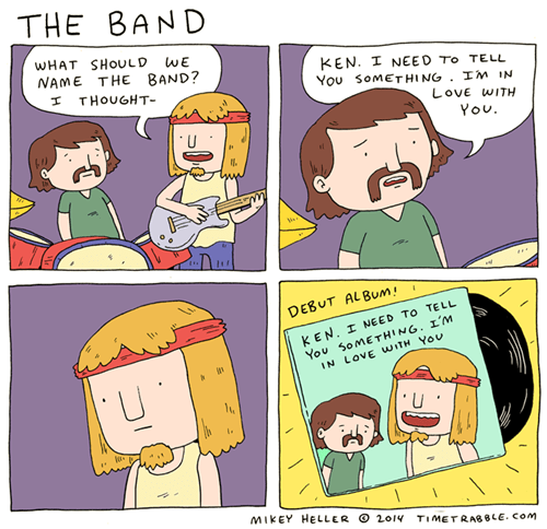 Music love band web comics