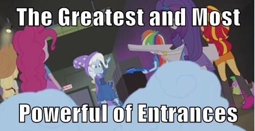 old meme the great and powerful trixie - 8322265344