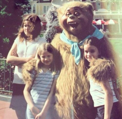 kids siblings amusement park expression family photo parenting sister - 8322453248