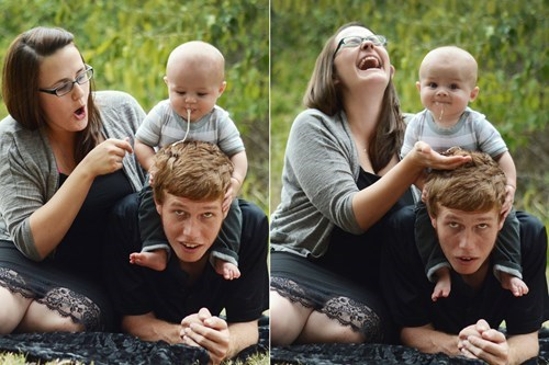 vomit,baby,family photo,parenting
