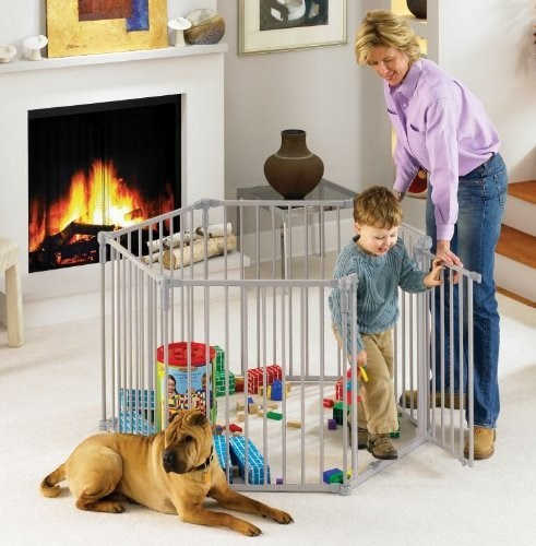 dogs kids fence cage parenting g rated - 8322461952
