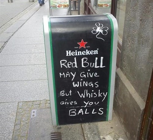 sign whiskey red bull pub funny after 12 - 8322469120