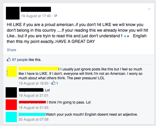 english facepalm america irony