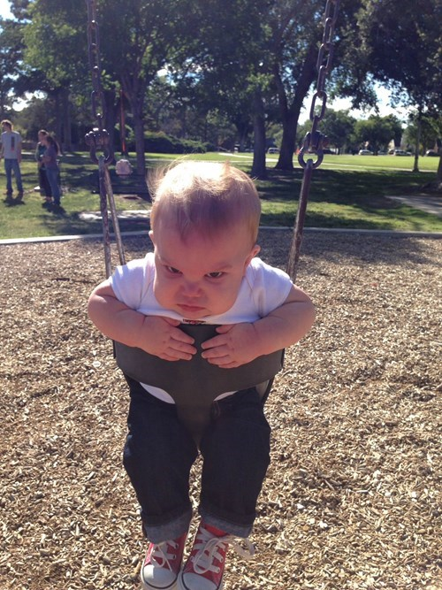 kids expression parenting swing - 8322484224