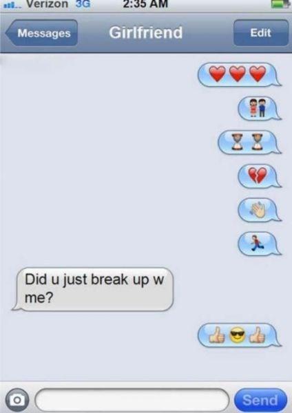 emoji breakup dating - 8322603264