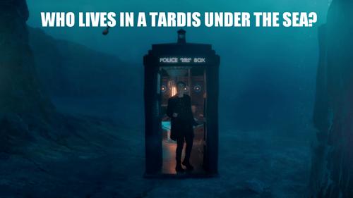 SpongeBob SquarePants,tardis,12th Doctor