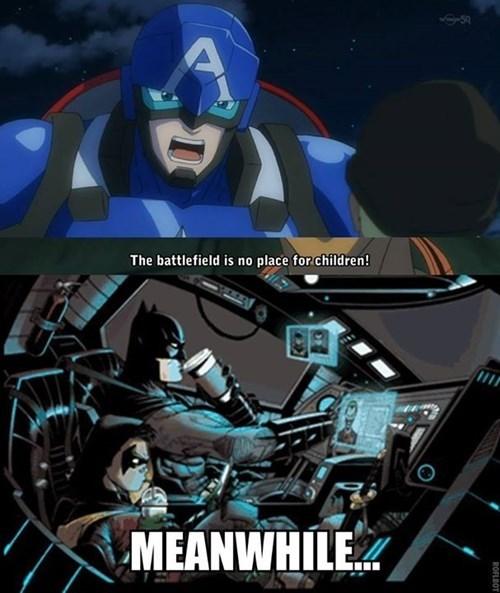 robin captain america batman - 8323171584