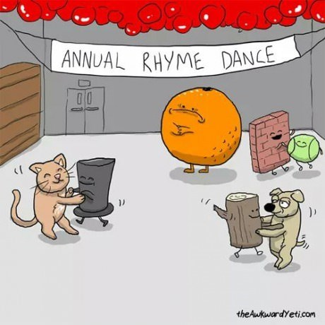 orange forever alone dancing sad but true rhymes web comics - 8323197952