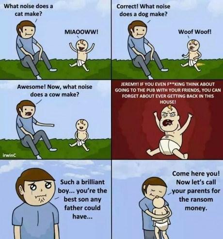 Babies,mindwarp,wisdom,web comics