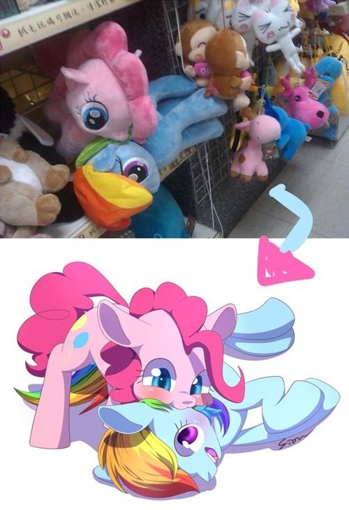 pinkie pie Plushie rainbow dash - 8323283712