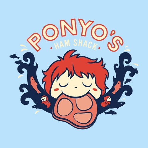 for sale ham ponyo tshirts - 8323304448