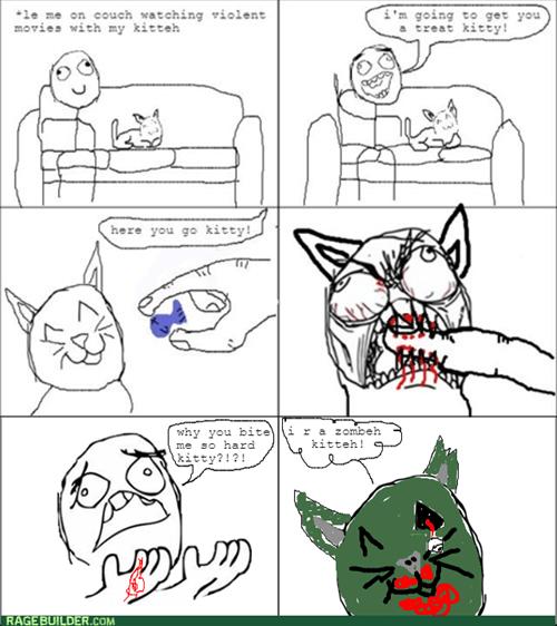 Cats zombie - 8323346944