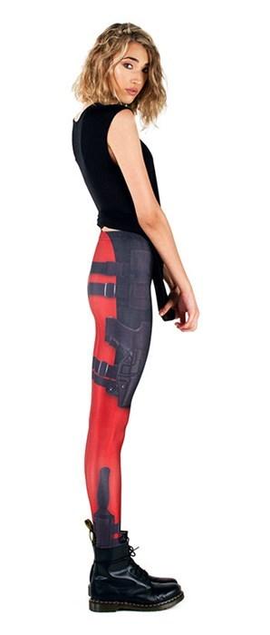 etsy deadpool leggings poorly dressed - 8323349504