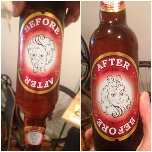 beer,Before And After,label,funny,after 12,g rated