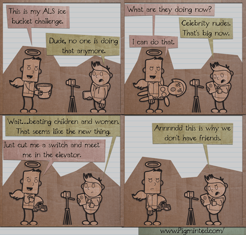 sad but true web comics ice bucket challenge - 8323395072