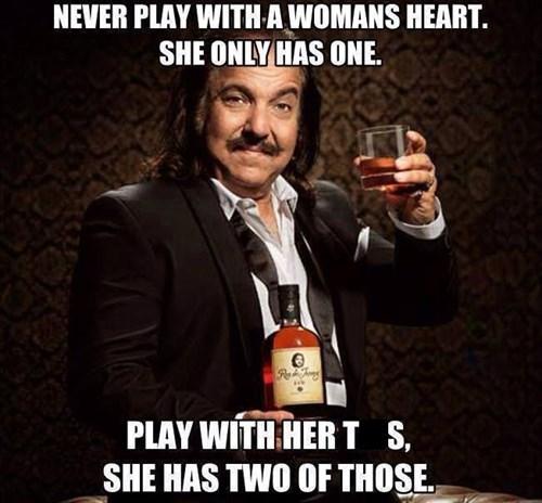 bewbs heart ron jeremy women - 8323400960