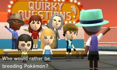 breeding,video games,tomodachi life,quirky questions