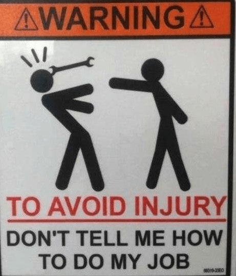 safety monday thru friday sign warning g rated - 8323474944