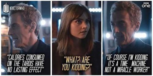 12th Doctor tardis clara oswin oswald - 8324351488
