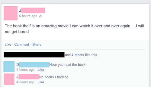 movies,books,irony,spelling