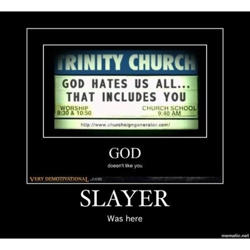 awesome funny god slayer - 8324387840