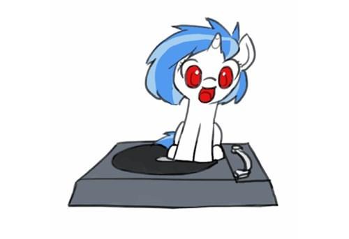 Fan Art turntable vinyl scratch - 8324860416
