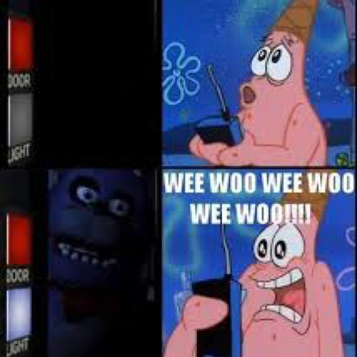 patrick,five nights at freddy's spongebob